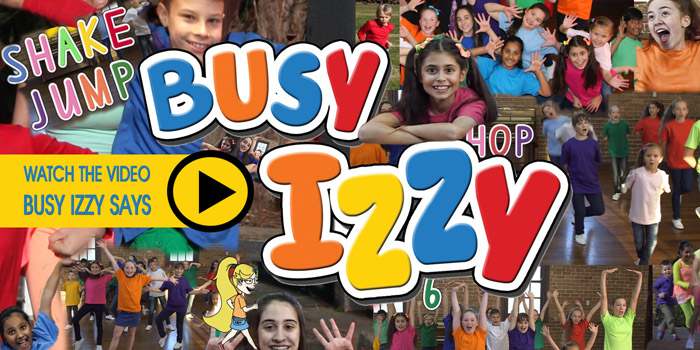 Busy Izzy Says video link