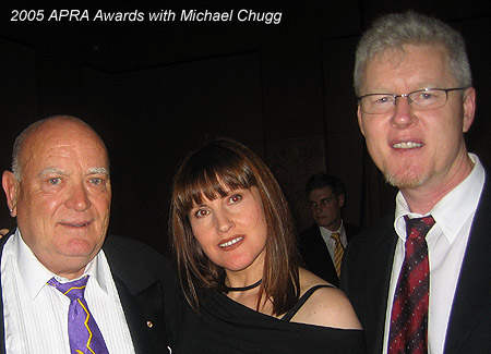 APRA Awards with Michael Chugg